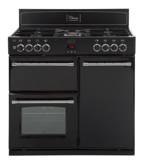 Stoves 900DFTBLK